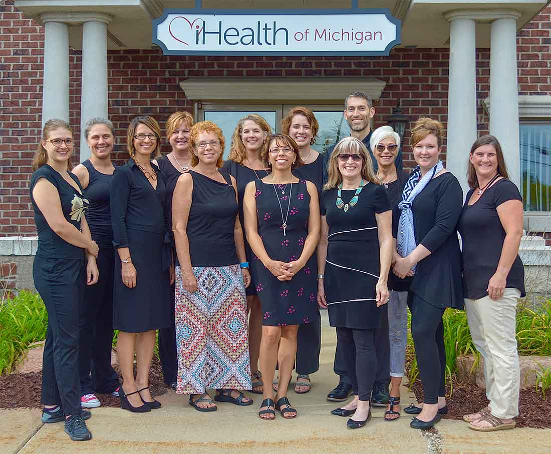 The practitioners of iHealth of Michigan.